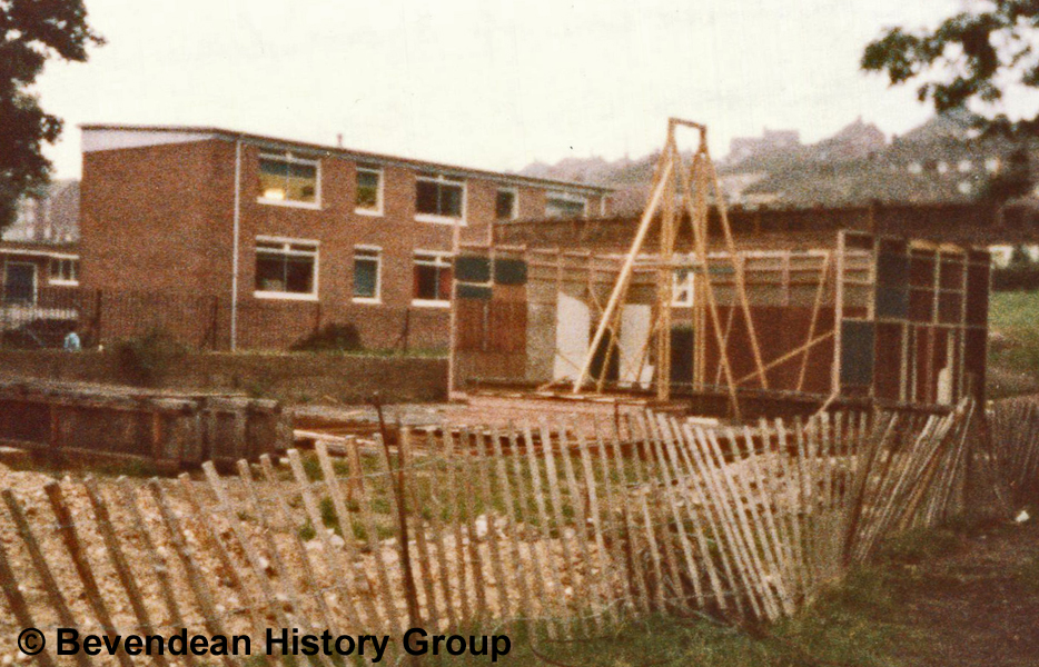 October 1984 Building Becca 1