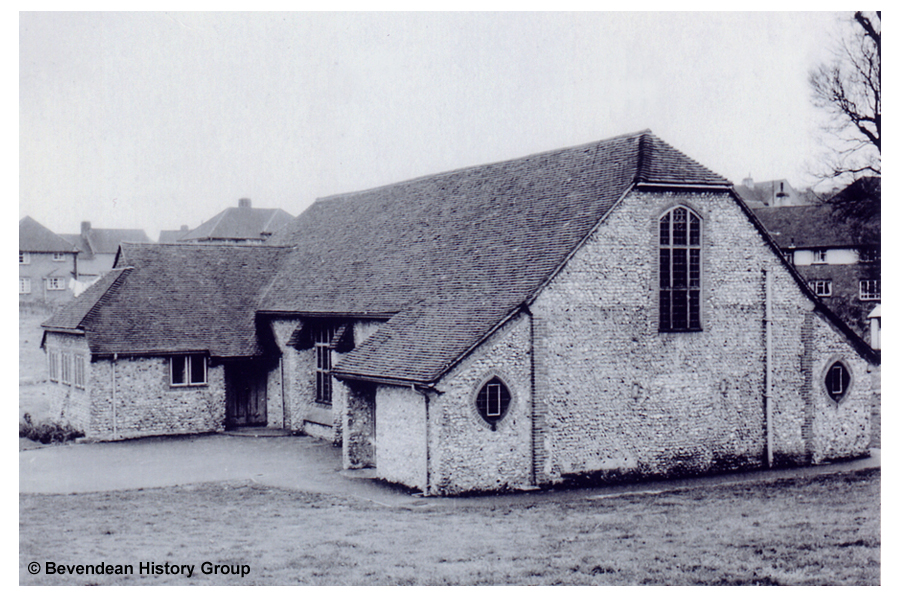 Coldean Church in 1960s